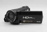 Wholesale HD P Camcorders inches LCD Digital Video Camera X Digital Zoom MP CMOS Sensor Max mega pixels