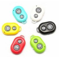 Wholesale 20pcs of Bluetooth Remote Camera Control Self timer Shutter for iPhone S C S for Galaxy S4 Note3 Smartphones and Tablet