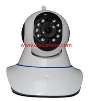 Wholesale 1 Mp p G TF card sound alarm household baby monitor Pan Tilt WIFI P2P IP IR night vision camera