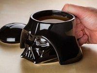 Wholesale Star Wars Mug Darth Vader Stormtrooper Helmet D Ceramic Coffee and Drink Mug with Removable Lid