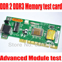 bad memory card - DDR2 DDR3 memory tester card Can detect memory FLASH chip good or bad Detection of multiple memory order lt no track