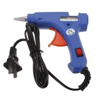 Wholesale 20W V Professional Mini Electric Heating Hot Melt Glue Gun With Glue Sticks