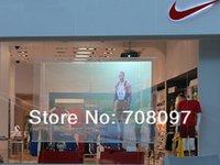 Wholesale sqm m x m world popular holograhic screen film for shop windows advertising