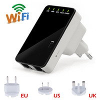 Wholesale 300Mbps b g n Professional Portable Wireless WIFI Booster Bridge Router Repeater Range Expander Network Signal
