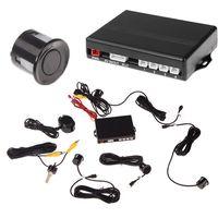 Wholesale Video Car Parking Sensors Reverse Backup Radar System Kit Parking Assistance Sensors V Work with Car DVD Monitor
