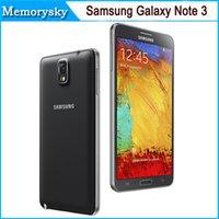 note 3 - Original Unlocked Samsung Galaxy Note III N9500 Phone LTE WCDMA Quad Core G RAM G ROM P MP Quad core Refurbished