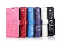 Para Samsung Galaxy S6 Edge G9250 Pulsera de Cocodrilo Serpiente Cartera de Cuero Bolsa Caso de la tarjeta de crédito Stand Funda Dura de Lujo para la Piel Cubierta de 8pcs