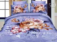 Wholesale Cotton comforter duvet covers sheet bedclothes set