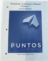 Wholesale New Book Puntos de partida Workbook laboratory Manual to Accompany