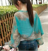 Wholesale UV sunscreen shawls long sleeved Chiffon car ride