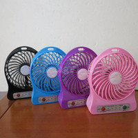 air blower filters - Portable Rechargeable USB Ventilator Desk Mini Fan Handheld Travel Blower Air Cooler White Pink Black Green Purple available
