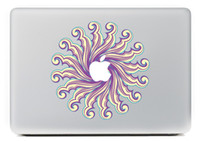Wholesale Sun Flowers Vinyl Decal for MacBook Pro inches Sticker Air Mac laptop skin skateboard stickers MC