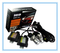 Wholesale super car light W H4 Slim HID Xenon Conversion Kit Head light Bulbs Lamp K K K