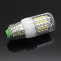 Wholesale E14 E27 G9 SMD LED corn Light Bulb W V V Cool Warm White LED Lamp bulbs With Cover