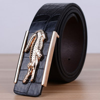 Wholesale New Fashion Men s and women s Business Belts Luxury Leisure Ceinture Smooth Buckle PU Leather Belts For Men Waist Belt