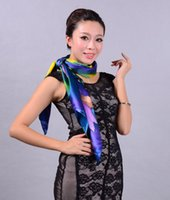 Cheap 2014 New Arrival Women's Pure Mulberry Square Silk Scarf Printed,Fashion Crepe Satin Plain Lengthen Elegant Large Scarf Shawl
