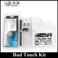 best e liquids - Best Selling Bud Touch Pen Electronic Cigarette mah Starter Kit Budtouch E Liquid Vaporizer