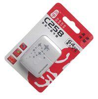 achat en gros de cartes mmc-5 IN 1 lecteur de carte fonction C258 mémoire USB 2.0 lecteur de carte multi pour micro SD / MMC / MS / M2 / TF livraison gratuite