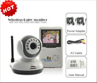 Wholesale Digital boy quot TFT Wireless Digital Baby Monitor IR Video Talk one Camera Night Vision video Baby Monitor