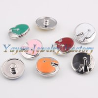Wholesale Hot new products for multicolor noosa chunk button pieces Noosa Nosasnap button for DIY bracelet