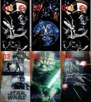 Wholesale 5 colors cm kids star wars towel cotton printed towels darth vader towels star wars beach bath towels cartoon swim covers towels