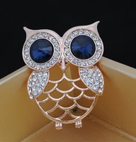 anchor party decorations - 2015 Fashion Owl Brooches Rhinestone men and women Accessories Anchor christmas pins mixed Decoration New Arrival Alloy Corsage