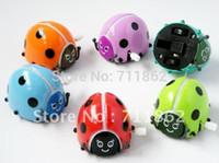 Wholesale Beetle Wind Tumbling Dancing Clockwork Beetle Ladybug Somersault Run Kid s Wind up Toys