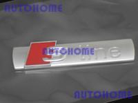 Wholesale 1 x Metal Sline Chrome Emblem Badge Logo Trunk Factory For Car OEM Genuine order lt no track