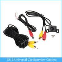 Wholesale E312 waterproof170 degrees on board camera the camera after the car Reverse monitoring system universal car rearview camera C246