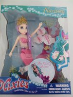 Wholesale Swimming Mermaids Barbie magical dancing mermaid BELLA NARISSA AMELIA electronic mermaid toys years kids Gifts DHL