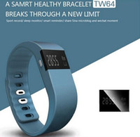anti bracelets - 30PCS TW64 Akin Fitbit Flex Bluetooth4 Smart Bracelet Waterproof Anti Lost Wristband Call Reminder Remote Photograph Watch for IOS Android