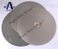 stone polishing pads - 12 quot mm grit500 grit1500 Electroplated Diamond Grinding Polishing Pads Discs Plates for precious stones glass ceremics hard alloy etc