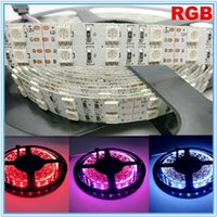 Decoration bright white leds - Super Bright LEDs Double Row SMD LED Strip V White Yellow Red RGB LED lights Non Waterproof