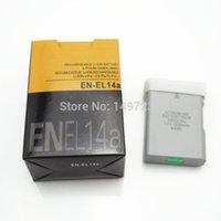 Wholesale EN EL14a EL14a EL14 camera Battery batteries for Nikon DF D5300 D5200 D5100 D3300 D3200 D3100 P7100 P7700 P7800 P7000