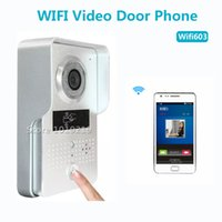 wireless door camera - Wifi Wireless Doorbell Wifi ip Video Door Phone Remote Unlock Door and Video Recording Motion Sensor Wifi Waterproof Camera