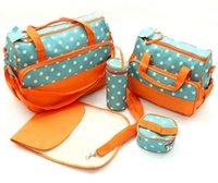 baby milk powder - 2015 baby bags for mom Durable Nappy Bag High Quality Mummy Bag including Mother Bag warm box wet mat Milk Powder Dispenser