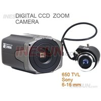 Wholesale 1 inch SONY CCD TVL S WDR D DNR OSD Star Light X Digital Zoom Box Camera with mm lens Support D DNR X Digital Zoom