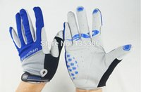 Wholesale Cycling bicycle gloves Full Finger Bike Nylon Winter Warm sports gloves