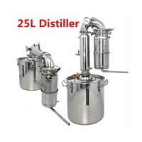 alcohol water - 25L Distiller Bar Household equipment wine limbeck distilled water baijiu large capacity vodka maker brew alcohol whisky