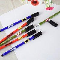 Wholesale 029 Hero One piece Cartoon England pattern school supplies gel pen cute gel pen mm office supplies