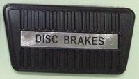 auto disc brake pad - FOR HOLDEN HQ HJ HX HZ SEDAN GTS MONARO WAGON UTE AUTO DISC BRAKE PEDAL PAD RUBBER
