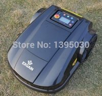 Wholesale By DHL th generation robot lawn mower with Range Funtion Auto Recharged Remote Controller Waterproof
