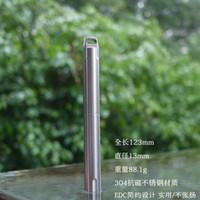 Wholesale EDC Gear CNC Tactical Pen quot steel Tactical Pen Keychain Survival EDC Tool Self Defense Waterproof P
