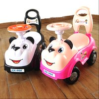 Wholesale The new baby cartoon dog car bear children s scooter with music twist car factory direct one generation
