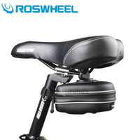 bicycle cleaning supplies - New Arrival Roswheel L Bike Saddle Bag Bicycle Repair Tools Pack EVA Case Riding Cycling Supplies easy cleaning and durable