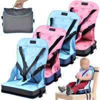 booster seat - Faldable Baby Kid Booster Seat Travel Chair Portable Car Chair For Toddlers Baby