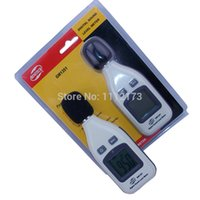 Wholesale Sending Retail Package GM1351 dB Digital sound level meter noise tester in decibels LCD screen Brand New T0012