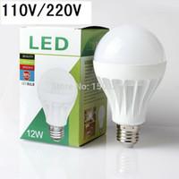 Wholesale New LED Bulb Lights W W W W W V V E27 B22 Led Lamp White Warm smd5730
