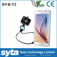 Wholesale Syta HD Mobile DVB T2 TV Receiver DVB T2 DVB T TV Tuner Stick for Android Pad Phone HD Channels
