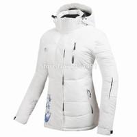 Wholesale TOP brand Rossignol women ski snowboard waterproof fabric jacket ski jacket skiing R1538